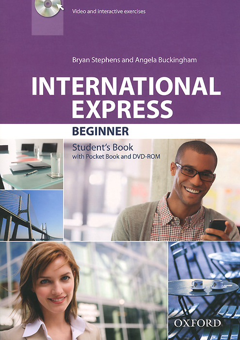 International Expres: Beginner: Student's Book (+ DVD-ROM) presentations in english dvd rom
