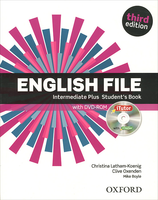 English File: Intermediate Plus: Student's Book (+ DVD-ROM) total english pre intermediate students book dvd rom