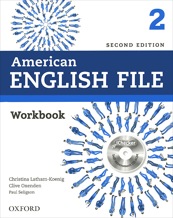 American English File: Level 2: Workbook (+ CD-ROM)