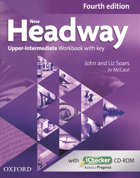 New Headway: Upper-Intermediate: Workbook with Key (+ CD-ROM) cutting edge upper intermediate active teach аудиокурс на cd rom