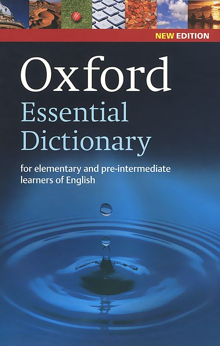 Oxford Essential Dictionary cambridge learners dictionary english russian paperback with cd rom