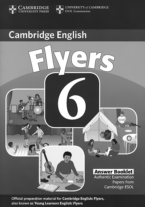 Cambridge Flyers 6: Answer Booklet