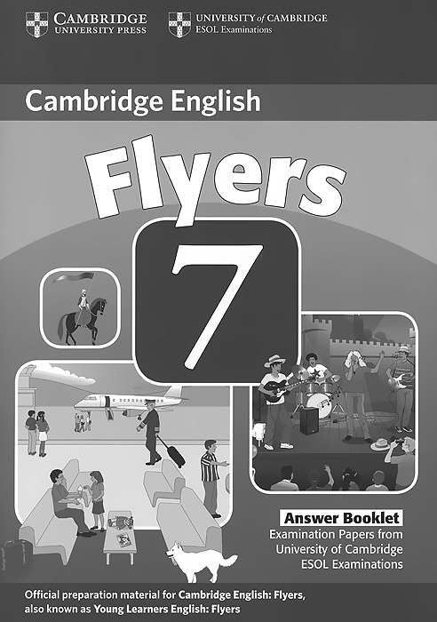 Cambridge Flyers 7: Answer Booklet сумка the cambridge satchel