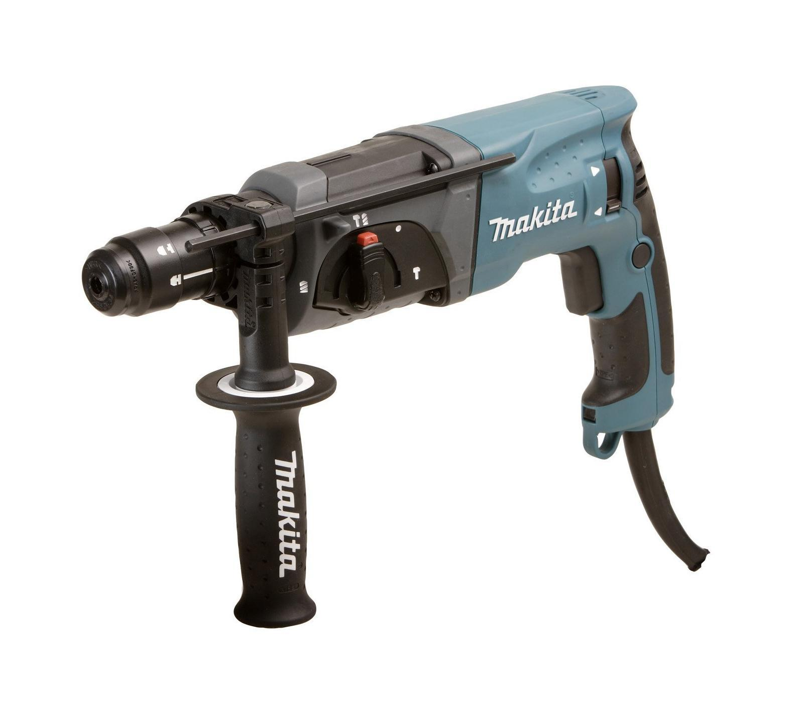 Перфоратор Makita HR2470FT перфоратор makita hr2611ft