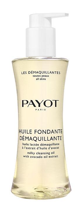 Payot Масло для снятия водостойкого макияжа Huile Fondante Demaquillante, очищающее, увлажняющее, 200 мл payot payot молочко мицеллярное увлажняющее для снятия макияжа с экстрактами малины 200 мл