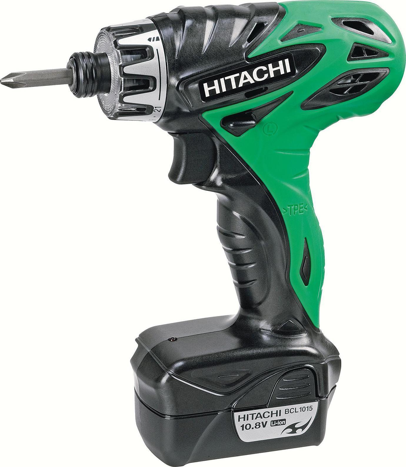 Hitachi DB10DL аккумуляторный шуруповертDB10DL
