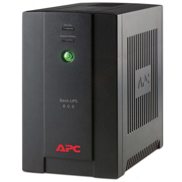 APC BX800CI-RS Back-UPS 800VA ИБП с евророзетками - Источники бесперебойного питания (UPS)