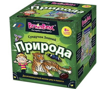 BrainBox Обучающая игра Природа brainbox brainbox игра сундучок знаний россия