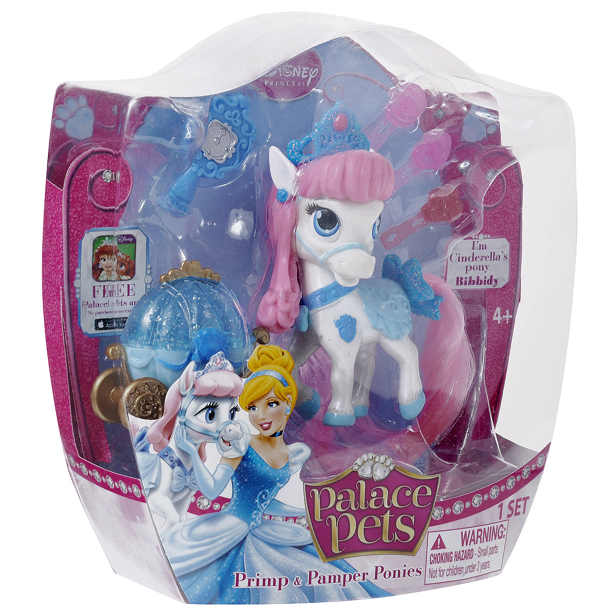 Palace Pets Пони Питомец Золушки игровые наборы palace pets мини коллекция набор котенок тианы лили и пони рапунцель blondie 2 фигурки