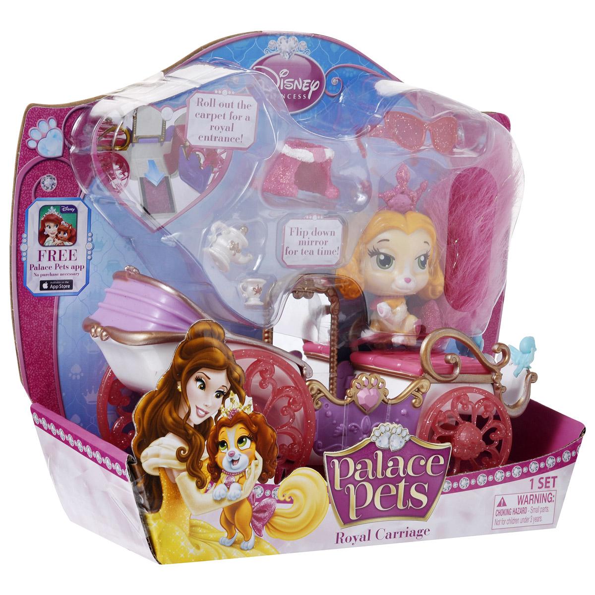 Palace Pets Игровой набор Карета с питомцем Белль palace pets игровой набор пони невеличка питомец бель