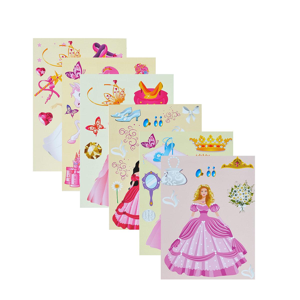 Набор картона Принцесса позволит создавать всевозможные аппликации и поделки. Набор состоит из 10 листов с изображением фей, принцесс, роскошных платье, волшебных бабочек, драгоценных камней.  Создание поделок из картона позволяет ребенку развивать творческие способности, кроме того, это увлекательный досуг.