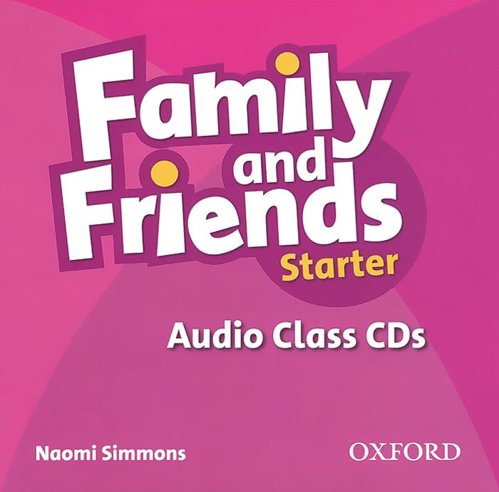 Family and Friends: Starter (аудиокнига на 2 CD) dolphin readers starter level my family