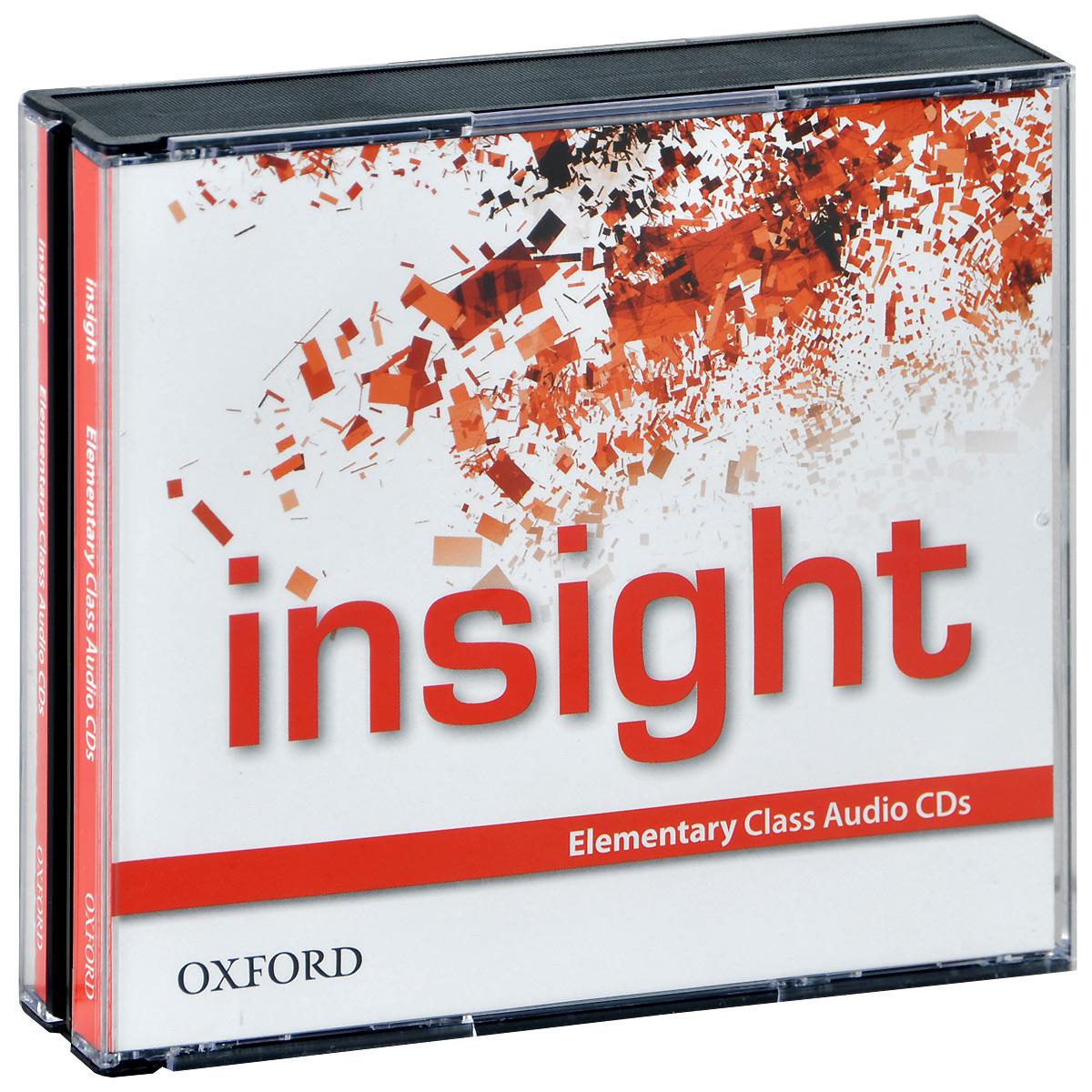 Insight: Elementary (аудиокурс на 3 CD) insight джинсы узкие женские insight python overdye deadbeet