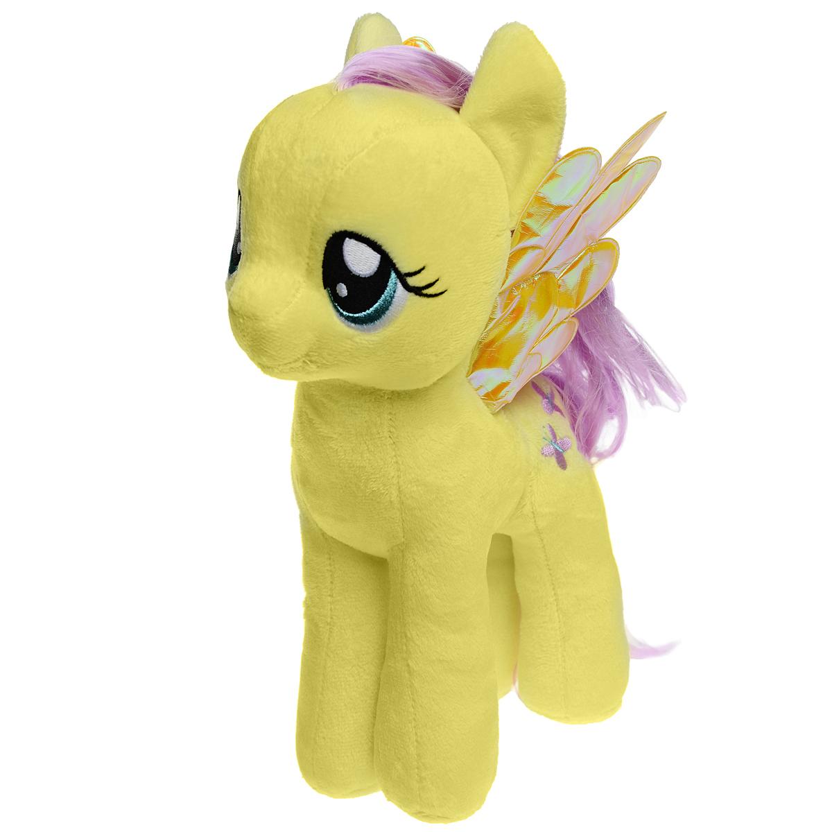 My Little Pony. Мягкая игрушка Пони Fluttershy, 30 см мульти пульти мягкая игрушка принцесса луна 18 см со звуком my little pony мульти пульти