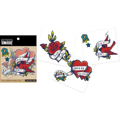 Набор натирок на папку Smash Розы, 3 листаKCO-30-671997Добавьте яркое украшение обложке или страничке вашей Smash-папки, или в другом месте где угодно. Это классическая тату-натирка от K&Company Smash легко переводится. В наборе 3 листа.
