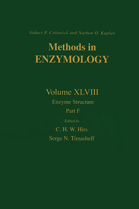 Methods in Enzymology: Volume 48: Enzyme Structure: Part F