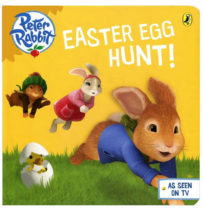 Peter Rabbit: Easter Egg Hunt! his royal whiskers