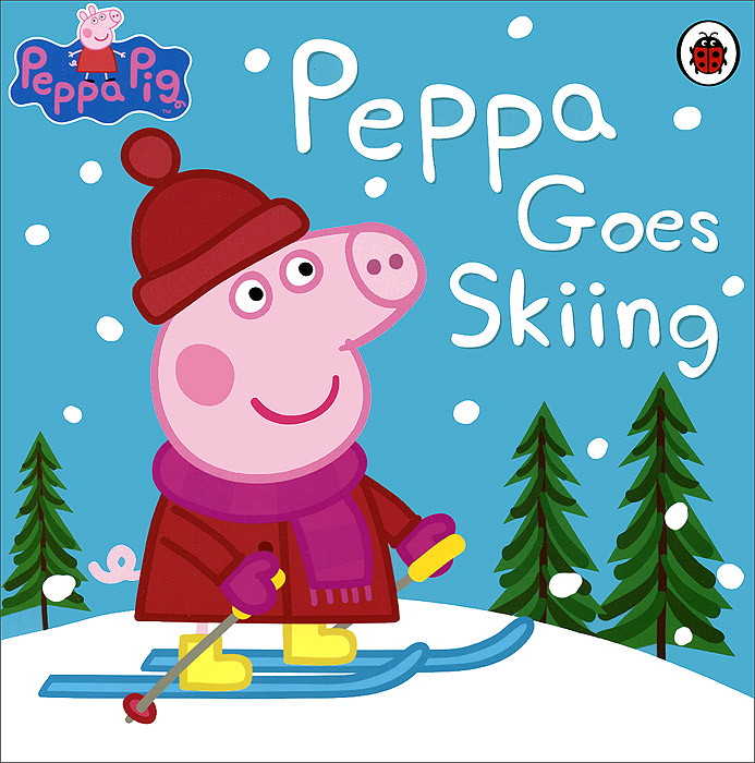 Peppa Pig: Peppa Goes Skiing peppa goes to the library