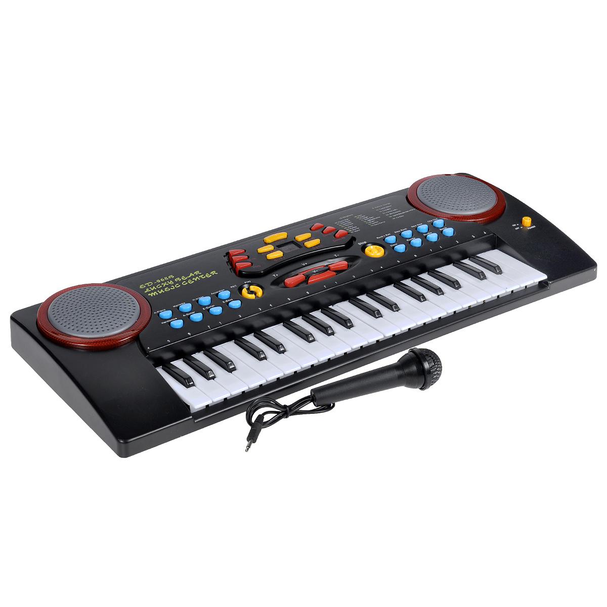Синтезатор  DoReMi , 37 клавиш, с микрофоном. D-00020 - Музыкальные инструменты