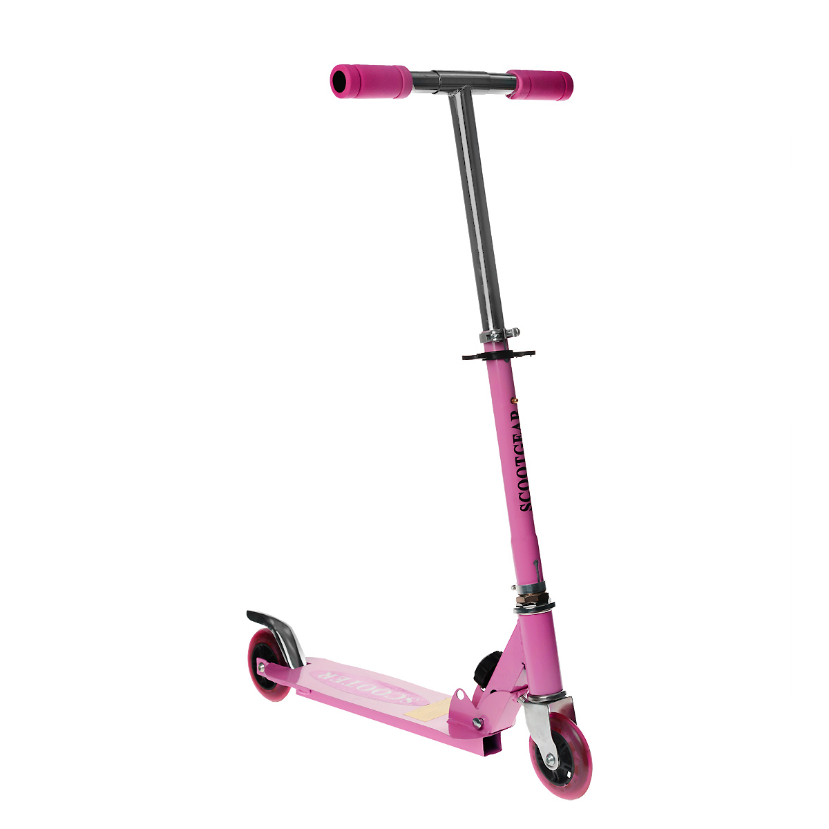 Самокат двухколесный Charming Sports, цвет: розовый. CMS001