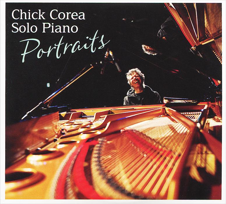 Чик Кориа Chick Corea. Solo Piano: Portraits (2 CD) chick corea steve gadd chick corea steve gadd chinese butterfly 3 lp