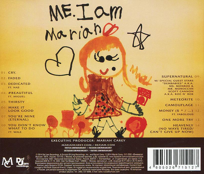 Mariah Carey.  Me.  I Am Mariah. . . The Elusive Chanteuse ООО