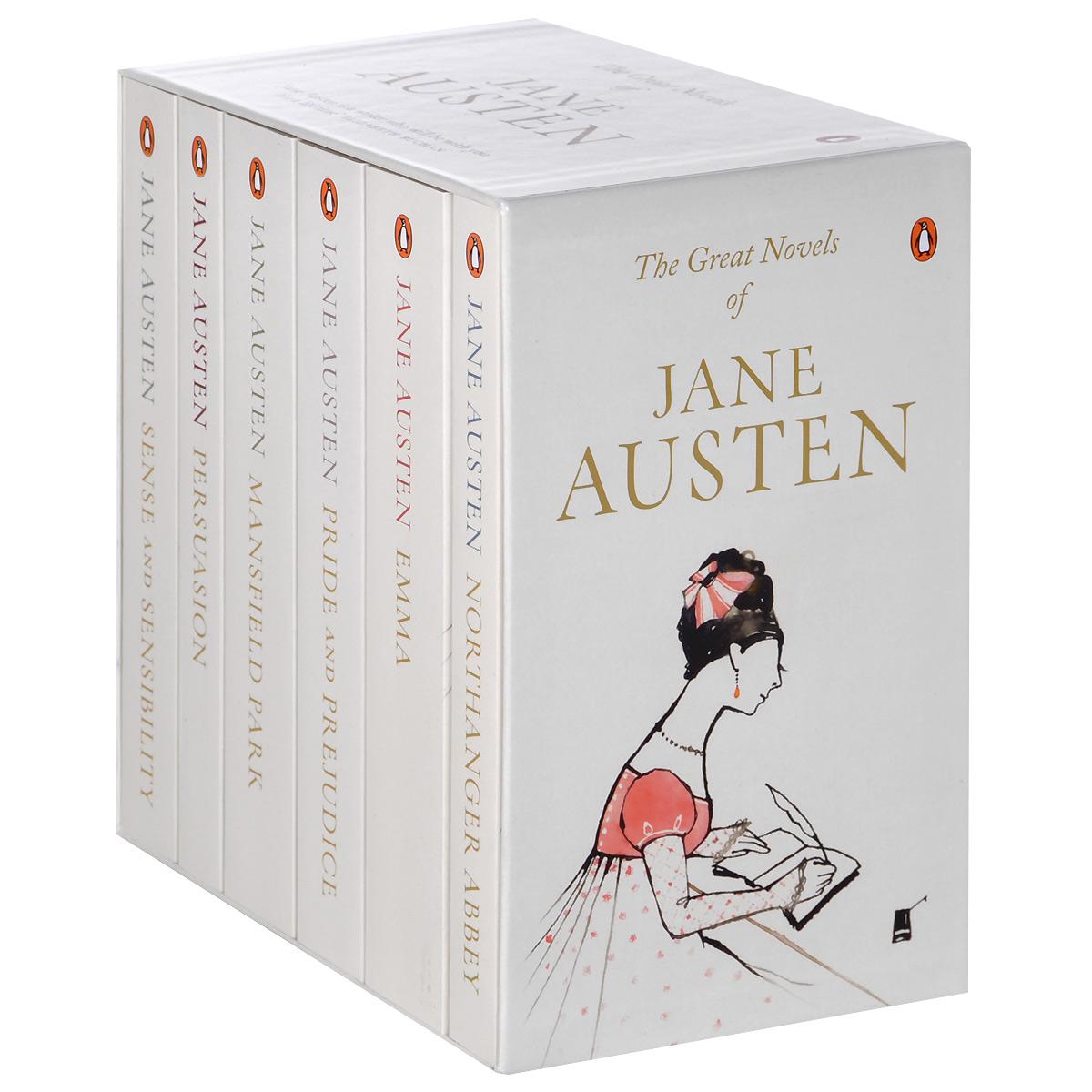The Great Novels of Jane Austen (комплект из 6 книг) jane austen note cards