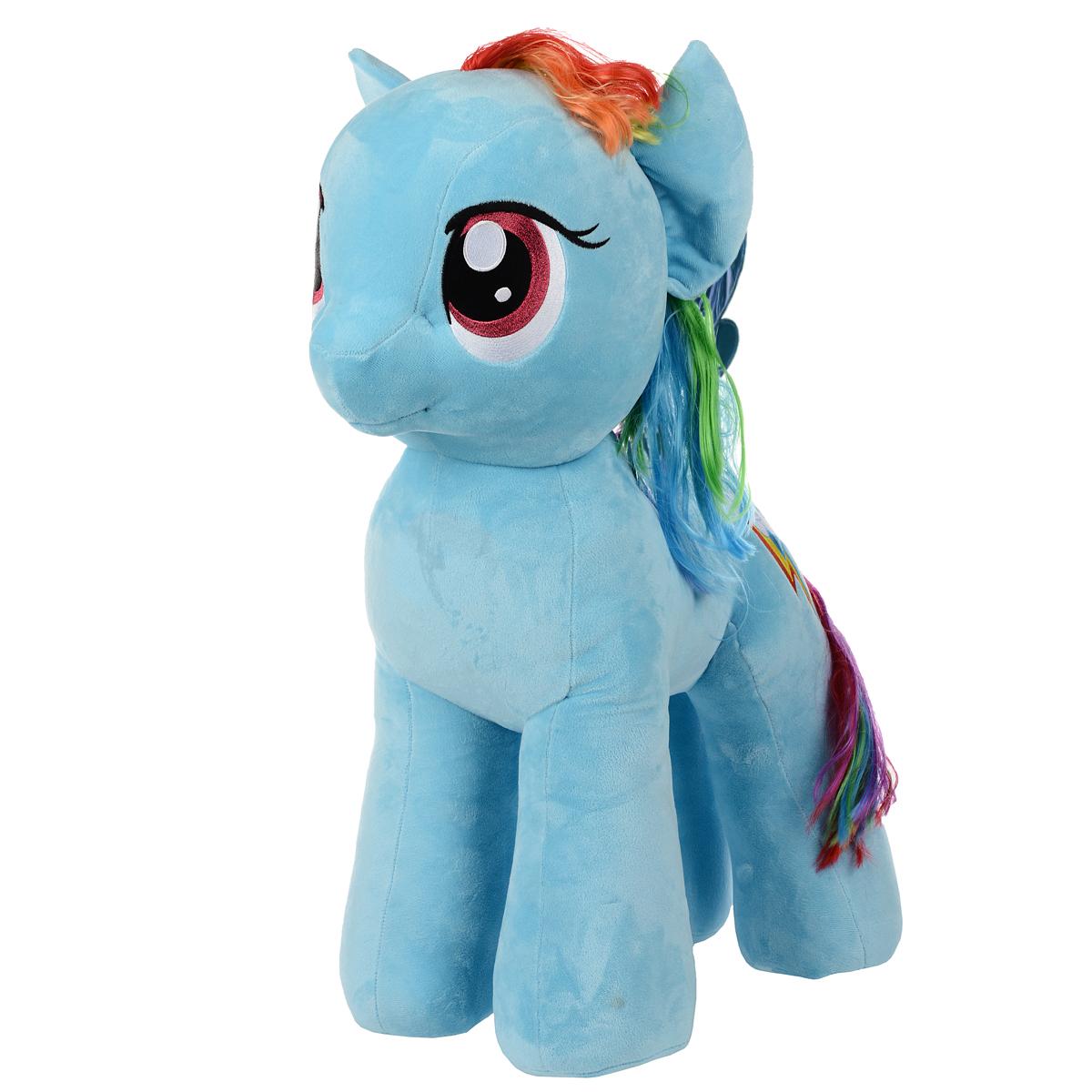 My Little Pony Мягкая игрушка Пони Rainbow Dash, 76 см мульти пульти мягкая игрушка принцесса луна 18 см со звуком my little pony мульти пульти