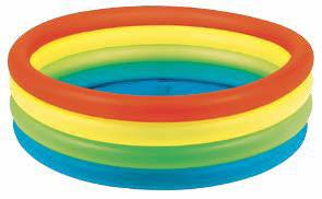 Бассейн надувной Jilong Neon, 150 х 40 смJL010195NPFКруглый надувной бассейн Jilong Neon идеально подойдет для детского и семейного отдыха на загородном участке. Бассейн изготовлен из прочного ПВХ. Бассейн состоит из 4 неоновых колец одинакового размера. Комфортный дизайн бассейна и приятная цветовая гамма сделают его не только незаменимым атрибутом летнего отдыха, но и оригинальным дополнением ландшафтного дизайна участка.В комплект с бассейном входит заплатка для ремонта в случае прокола.
