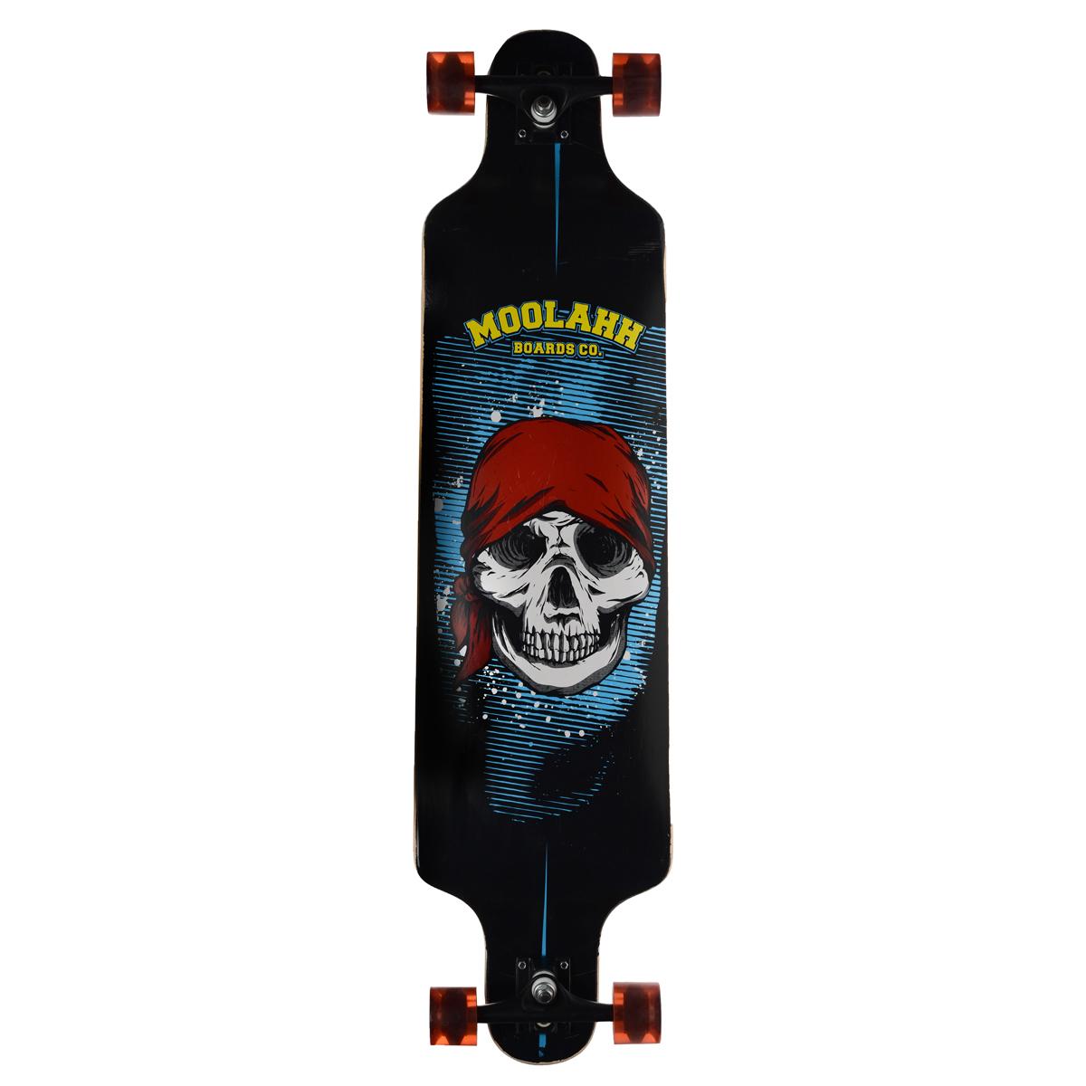 """Лонгборд MaxCity """"Long Board"""", цветной принт, дека 102 см х 25 см"""