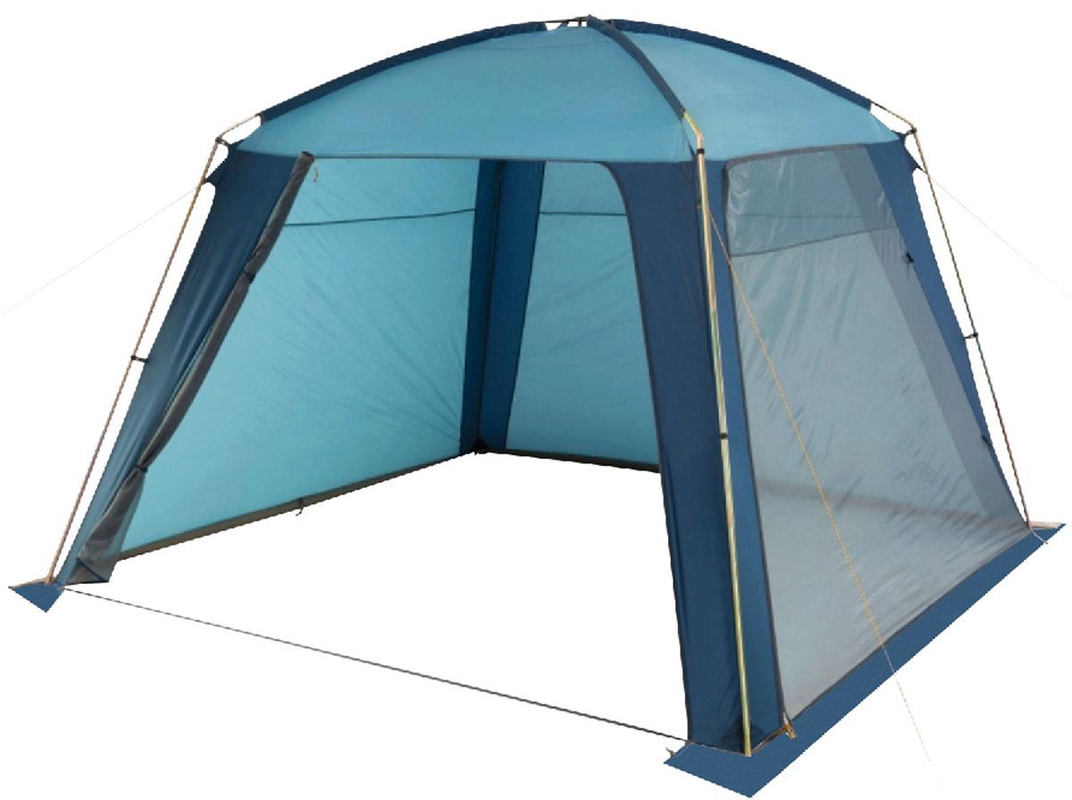 Шатер-тент TREK PLANET RAIN DOME, 320 см х 320 см х 210 см, цвет: синий, голубой70252Универсальный шатер четырехугольной формы TREK PLANET Rain Dome отлично подойдет как для дачи, в качестве беседки или полевого навеса, так и для кемпинга. Две стороны из полиэстера надежно защищают от ветра и дождя, две другие стороны из москитной сетки позволяют шатру отлично проветриваться.Особенности шатра:- легко собирается и разбирается;- устойчив на ветру;- две стороны шатра из полиэстера, с пропиткой PU водостойкостью 2000 мм надежно защищают от ветра и дождя;- две другие стороны из москитной сетки позволяют шатру отлично проветриваться, защищая от насекомых;- все швы проклеены;- двери из москитной сетки в полный размер стороны с молнией по периметру, удобно сворачиваются на сторону;- каркас: боковые стойки из стали, потолочные дуги из прочного стеклопластика;- прочные и удобные адаптеры для дуг со стойками;- два входа в шатер;- возможность подвески фонаря в палатке. Палатка упакована в сумку-чехол с ручками, застегивающуюся на застежку-молнию. Размер в сложенном виде 20 см х 20 см х 87 см.