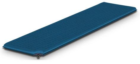 Коврик самонадувающийся Alexika Travel, цвет: голубой. 9321.3195