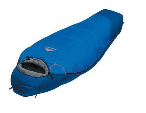 Спальный мешок Alexika Mountain Child, цвет: синий, правосторонняя молния. 9225.01051
