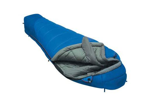 Спальный мешок Alexika Mountain Compact, цвет: синий, левовсторонняя молния. 9223.01052