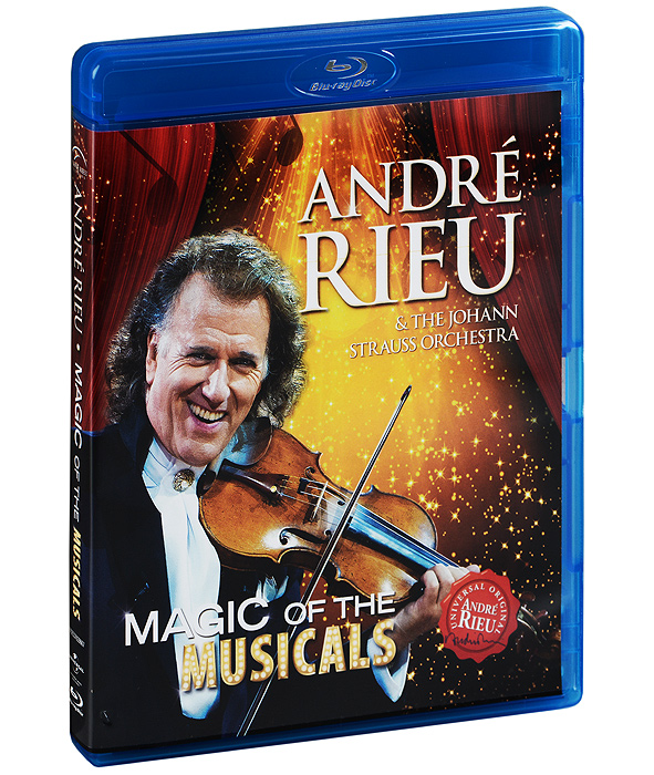 Andre Rieu & The Johann Strauss Orchestra: Magic Of The Musicals (Blu-ray) night of the proms antwerpen