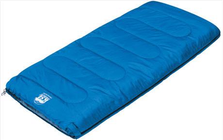 Спальный мешок-одеяло KSL Camping Comfort, цвет: синий, правосторонняя молния. 6253.010516253.01051С данной моделью спальника у вас больше никогда не возникнет никаких проблем при необходимости заночевать на природе.Спальный мешок-одеяло KSL Camping Comfort – лучший выбор для любителей летних походов. Внешний слой спальника сделан из полиэстера, а внутренний - из мягкого хлопка, нежного и весьма приятного на ощупь. Между ними расположено два слоя синтетического наполнителя. Наполнитель отлично сохраняет тепло, но при этом легок и пропускает воздух, благодаря чему ночевки в спальнике Camping Comfort будут комфортными. При необходимости вы можете состегнуть вместе два спальника, так как модель оборудована специальной молнией. Спальник легок в транспортировке и не займет много места в рюкзаке. Его удобно брать с собой даже хрупкой девушке. Кроме этого, за счет яркого синего цвета на спальнике не заметны загрязнения, что весьма актуально для людей, любящих походы. Но даже если после вылазки на природу вам понадобится его постирать, это можно сделать обычным способом.Название спального мешка-одеяла Camping Comfort говорит само за себя - с ним вам действительно будет очень удобно и невероятно комфортно во время любого похода в любые места!Размер в чехле: 47 см x 24 см.Внешняя ткань верх: Polyester 190T.Внешняя ткань низ: Polyester 190T.Внутренняя ткань: Polycotton.Утеплитель: APF-Isoterm 3D.