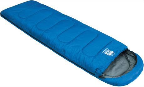 Спальный мешок-одеяло KSL Camping Plus, цвет: синий, левосторонняя молния. 6252.010526252.01052Любой турист знает, как важно перед вылазкой на природу заранее продумать вопрос ночевки. Причем стоит помнить, что даже в летнюю пору нередко случаются прохладные ночи. И вот здесь незаменимой вещью окажется качественный спальник. Один из таких вариантов предлагает компания KSL. Выпускаемый ею кемпинговый спальник-одеяло с подголовником Camping Plus можно смело назвать лучшим выбором для туриста, привыкшего к удобству.Мешок рассчитан на использование в теплое время года. Внешняя ткань данной модели - полиэстер, внутренняя - натуральный и мягкий хлопок, который очень приятен на ощупь. Между этими слоями ткани находится два слоя синтетического наполнителя. Размер в чехле: 42 см x 21 см. Внешняя ткань верх: Polyester 190T. Внешняя ткань низ: Polyester 190T. Внутренняя ткань: Polycotton. Утеплитель: APF-Isoterm 3D.