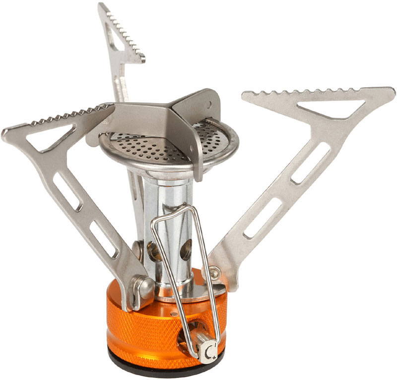 Газовая горелка Fire-Maple, с ветрозащитой. FMS-103 fire maple fms 100 separated type outdoor camping burner stove silver