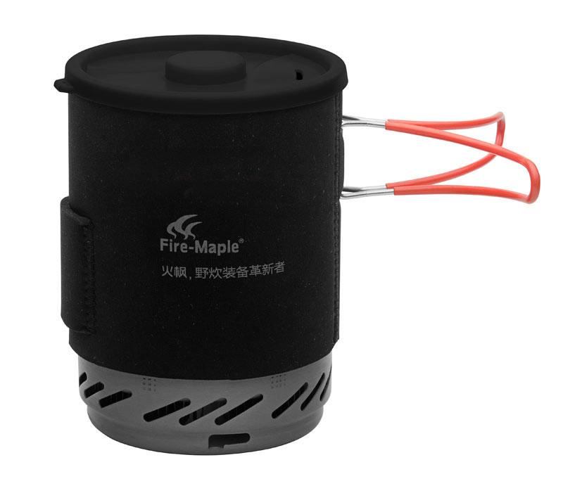 Система приготовления пищи Fire-Maple Star FMS-X1FMS-X1Star FMS-X1- это высокоэффективная комбинированная система приготовления пищи с встроенной системойтеплообмена в нижней части котелка. Эта система позволяет увеличить энергоэффективность эксплуатациина 30%. Котелок оснащен специальной крышкой, которая помогает сохранить тепло.В состав комбинированной системы готовки STAR FMS-X1 входит: горелка-основание, котелок с системойтеплообмена, TPE-подставка (из термопластичного эластомера), миска и термосберегающий рукав.Высокоэффективная система увеличивает продуктивность приготовления пищи на 30%. Экономия газа - потребляет меньше топлива. Проваренный стыковочный шов на котелке полностьюустраняет выброс вредных металлов в процессе готовки. Защита от ветра - специальный дизайн позволяет защитить пламя от ветра без примененияветрозащитного экрана. Портативность - дизайн совмещает в себе котелок и горелку, при желании горелку можно поместить вкотелок, добавив туда еще и сменный газовый картридж вместе с миской.Основа горелки выполнена из ABS-материала (ударопрочная техническаятермопластическая смола). В комплект входит система пьезоэлектрического зажигания, система легкоразбирается и зажигание при необходимости можно заменить. Газовая комбинированная система приготовления пищи STAR FMS-X1 снабжена ниппелем, особойсистемой предотвращения потери топлива при многократном подсоединении и отсоединении сменногокартриджа. Это позволяет в разы снизить расход жизненно необходимого топлива в путешествии. Эта модельотлично подходит для использования с резьбовыми сменными картриджами любых типов. Возможноподсоединение к цанговому баллону при помощи адаптера FMS-701.Поставляется виндивидуальном чехле для переноса и хранения системы. В целом, компактный дизайн, устойчивость,надежность и долговечность. Система приготовления пищи STAR FMS-X1 сочетает высокую энергоэффективность, компактность илаконичный дизайн. Это оптимальный выбор для экстремальных походов.Общая емкость составляет 1,2 