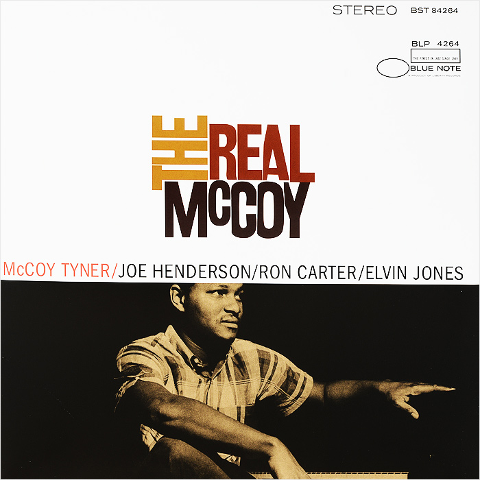Маккой Тайнер,Джо Хендерсон,Рон Картер,Элвин Джонс McCoy Tyner. The Real McCoy (LP) джон колтрейн маккой тайнер стив дэвис элвин джонс john coltrane my favorite things lp