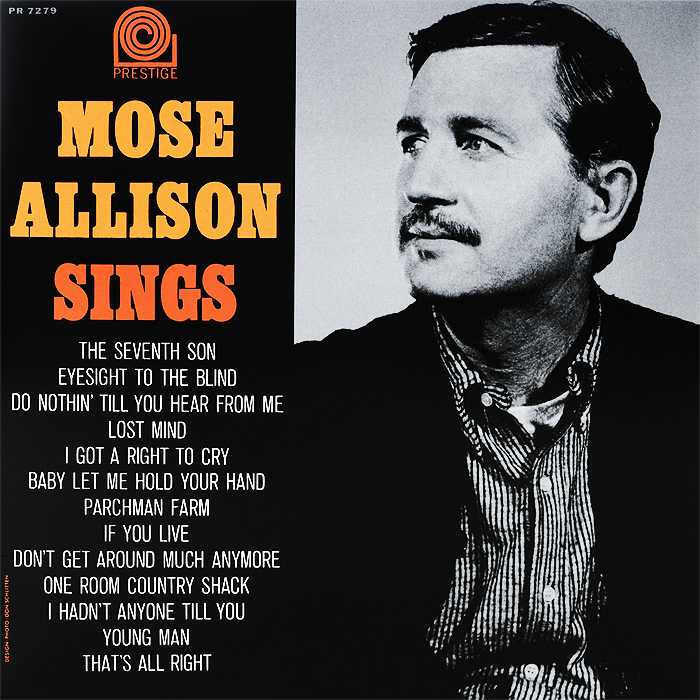 Mose Allison. Sings (LP)