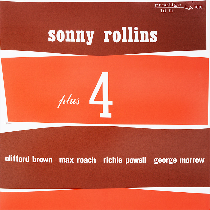 Sonny Rollins. Plus Four (LP)