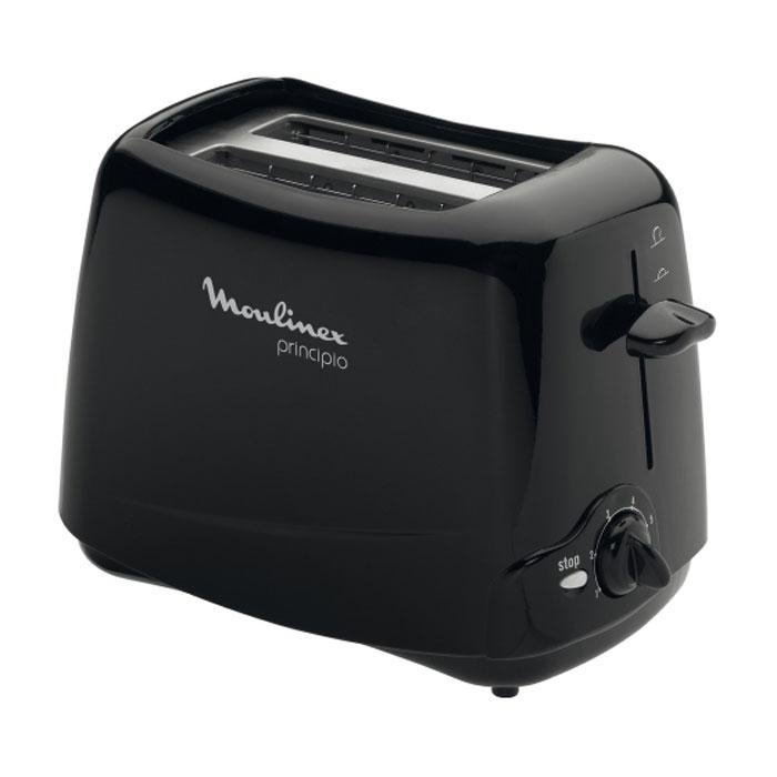 Moulinex TT110232 Тprincipio, Black тостер тостер 0 85квт moulinex lt260830