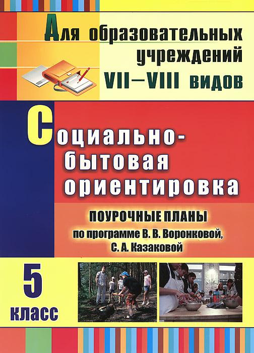 Социально-бытовая ориентировка. 5 класс. Поурочные планы по программе В. В. Воронковой, С. А. Казаковой