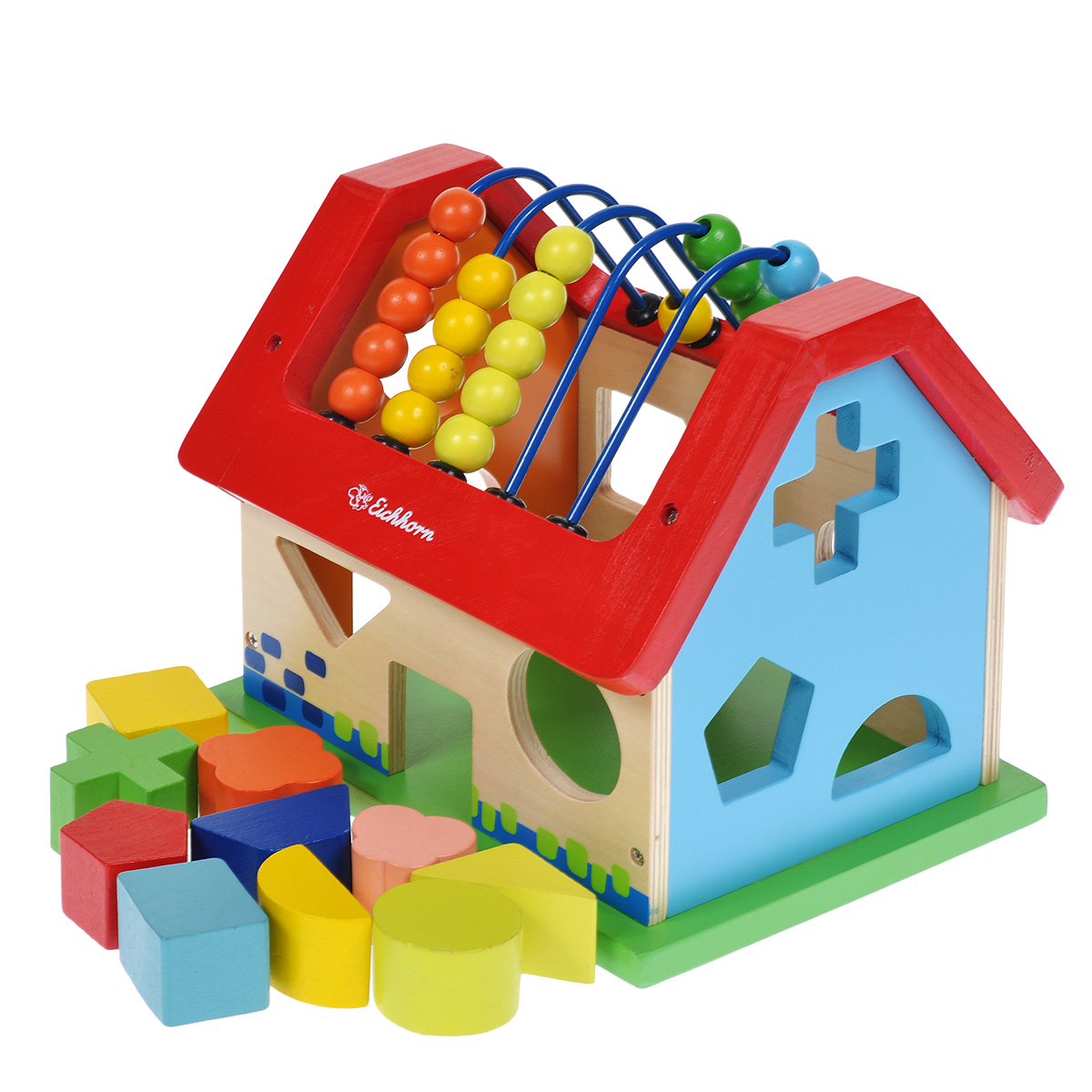 Simba Развивающая игрушка-сортер Eichhorn Домик s&a style w15080796300