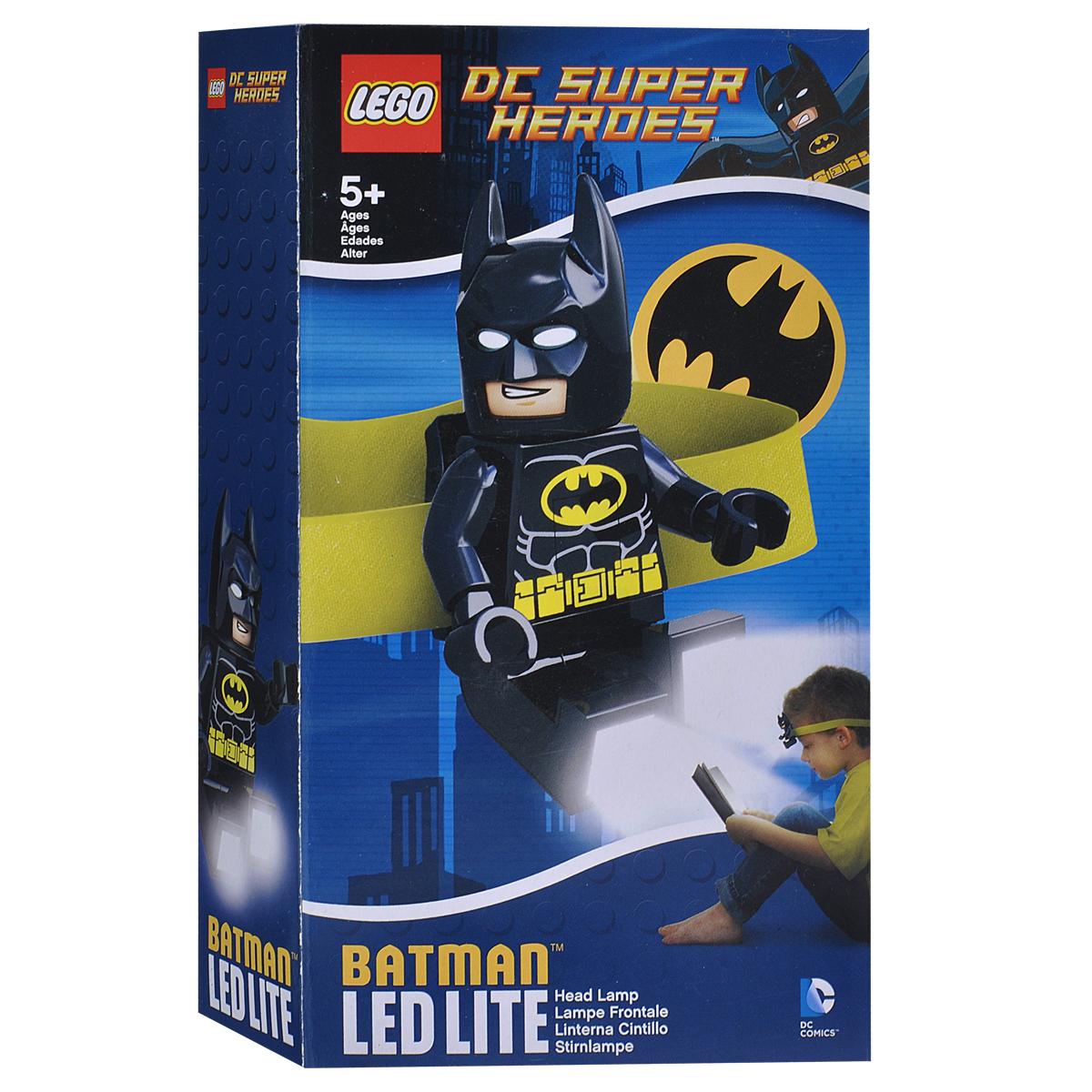 Налобный фонарик Lego Batman. LGL-HE8LGL-HE8Налобный фонарик Lego Batman исполненный в виде бесстрашного супергероя, станет верным спутником при любом занятии вашего ребенка. Фонарик станет незаменимым в походах, при чтении книг, конструировании, собирании мозайки и других интересных занятиях и играх.Главное отличие этого изделия заключается в том, что он не только освещает нужное пространство, но и оставляет руки хозяина свободными. Яркие светодиодные лампы встроены в ступни героя.Супергерой может вращать конечностями, что позволяет использовать его как игрушку, а также направлять светодиодные лампы в двух направлениях. Работает устройство от двух круглых батареек, которые входят в комплект. Характеристики:Материал: пластик, металл. Размер игрушки: 8 см х 4,5 см.Изготовитель: Китай.BR> В комплекте c батарейками 2 хСR2025 3v.