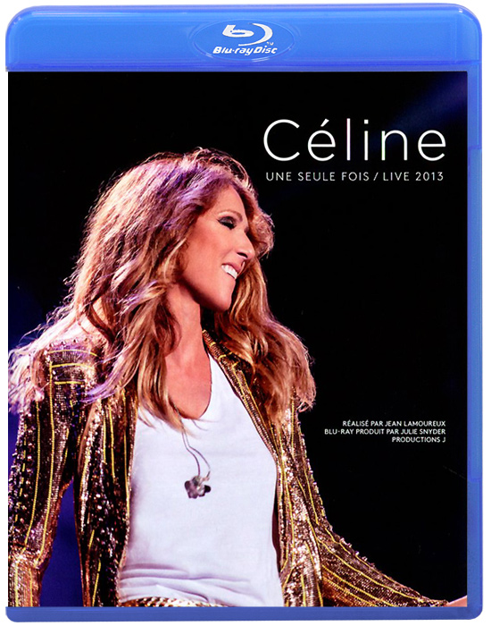 Celine Dion: Une Seule Fois / Live 2013 (Blu-ray + 2 CD) celine dion through the eyes of the world blu ray