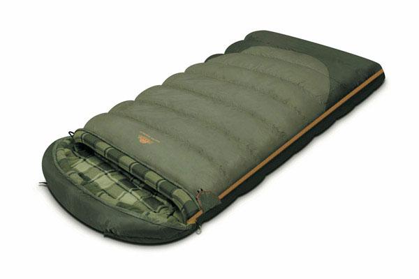Спальный мешок-одеяло Alexika Tundra Plus XL, цвет: оливковый, левосторонняя молния. 9267.01072 спальный мешок одеяло alexika siberia wide plus