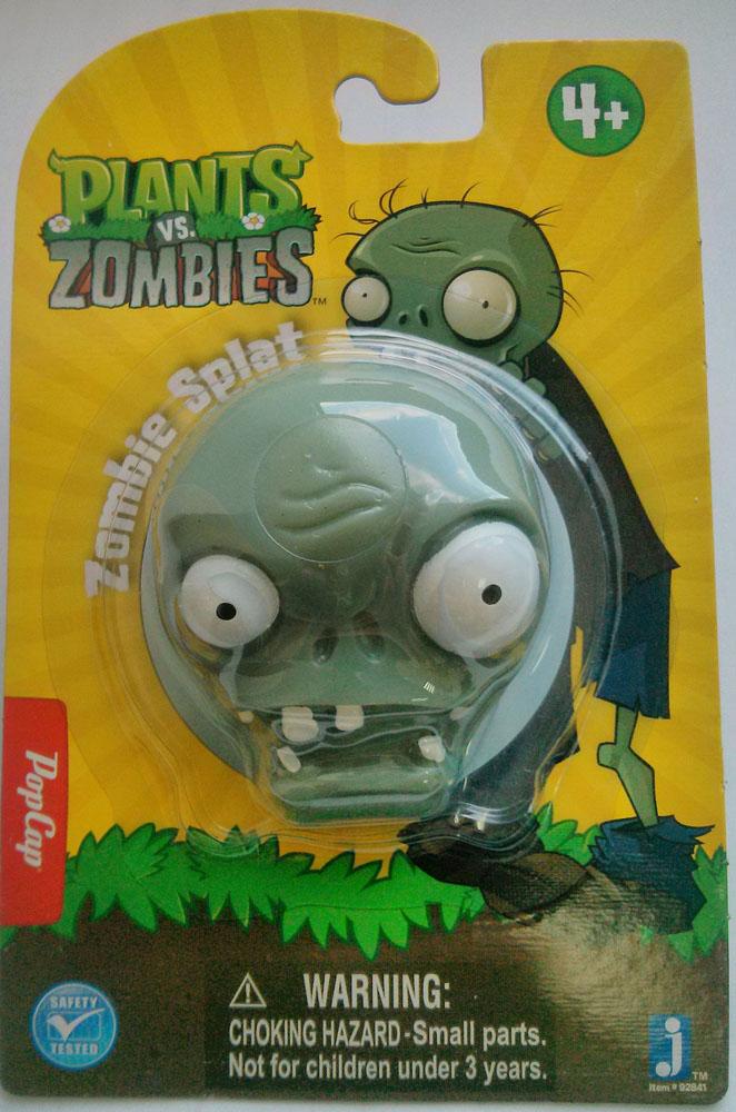Игрушка Plants vs Zombies Зомби, цвет: серо-зеленый мягкая игрушка plants vs zombies котенок