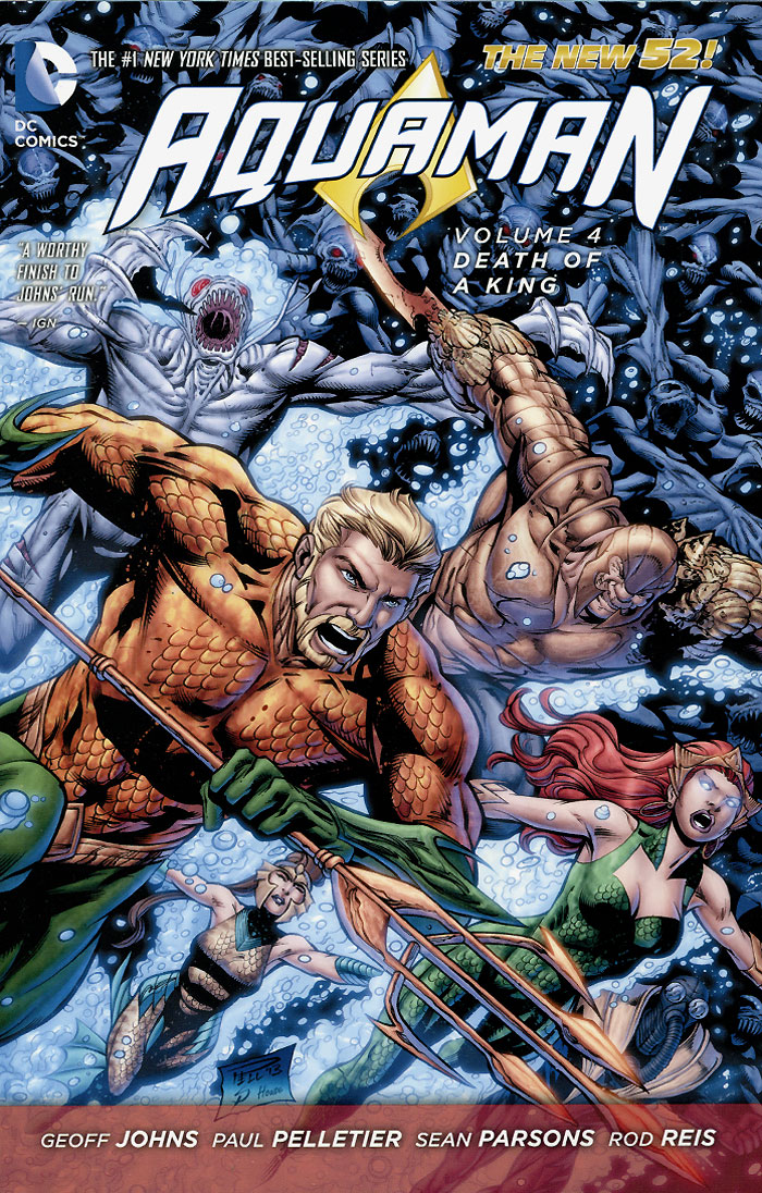 Aquaman: Volume 4: Death of a King a maze of death
